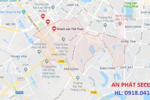 Lắp camera tại quận Thanh Xuân