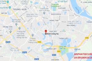 Lắp camera tại Định Công Hạ